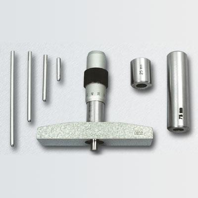 Глубиномер микрометрический специальный ГМС с планками (200, 550)