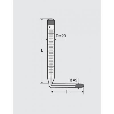 Термометры технические жидкостные ТТЖ-М, исполнение 5