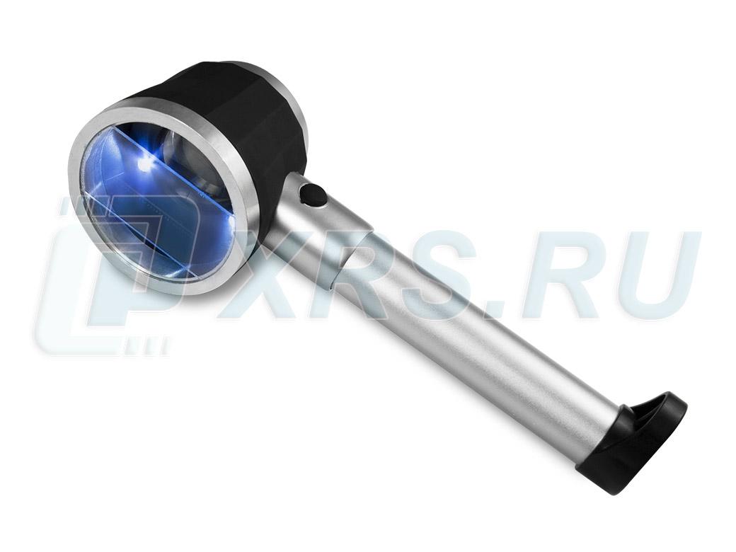 Лупа измерительная с подсветкой 10х