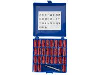 Маркировочные литеры СПРУТ №2 (буквы кириллица) для радиографического контроля
